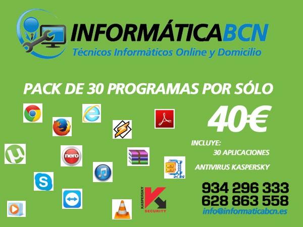 Servicios a Domicilio Informatica Barcelona