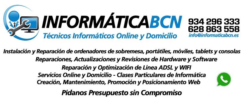 Tecnicos Informaticos Online y Domicilio