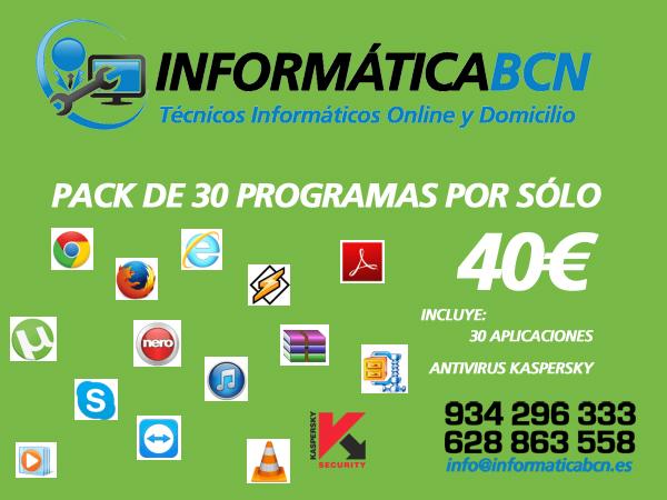 Instalacion de Software en Barcelona