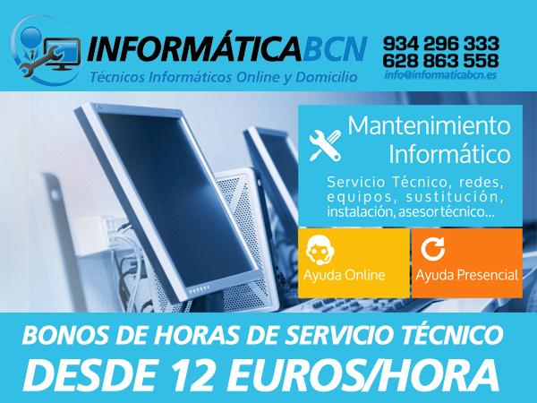 Servicios Online Informatica Barcelona