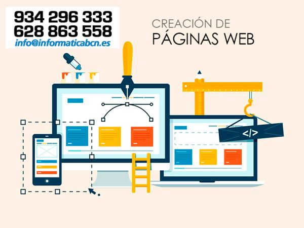 Creacion, Mantenimiento, Posicionamiento y Promocion WEB