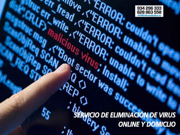 Eliminar Virus Informatica Barcelona